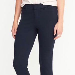 Old navy pixie pants full length navy blue NWT